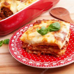 Oppskrift på lasagne