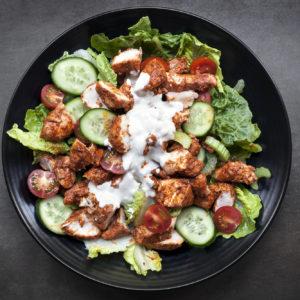 Bilde av kylling lårkjøtt